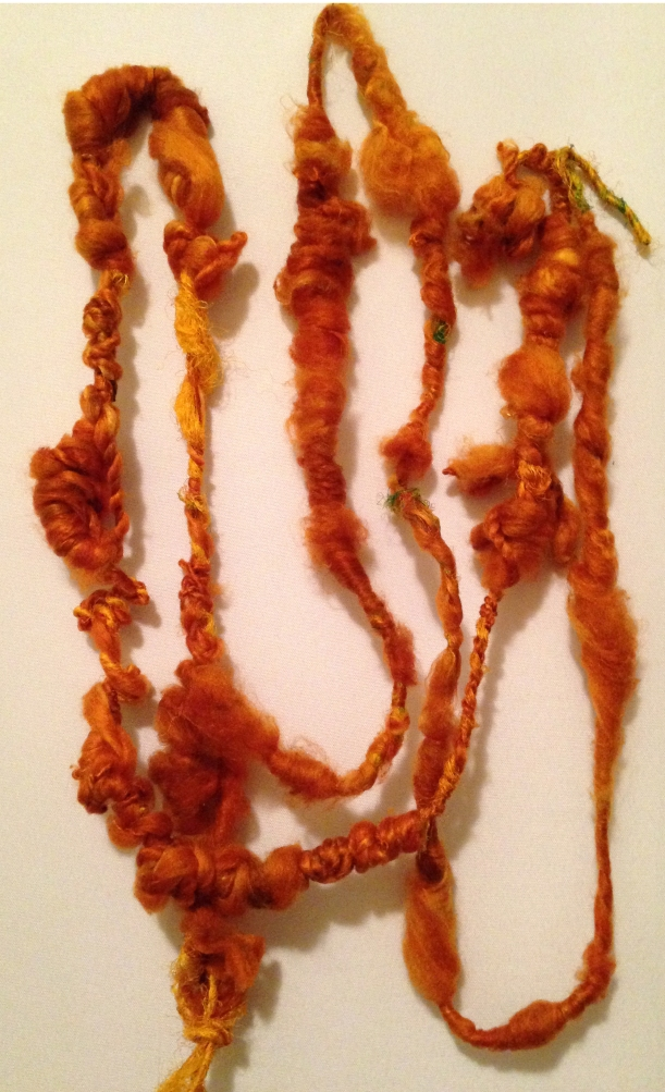 silk hankie art yarn